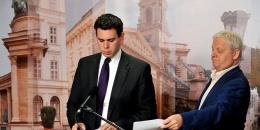 Vitézy Dávid és Tarlós István (fotó: MTI / Koszticsák Szilárd)