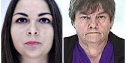 Varga Kleopátra és Pogány Kálmánné (forrás: police.hu)