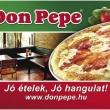 Don Pepe Étterem & Pizzéria - Újhegyi sétány
