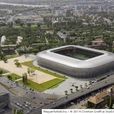 Groupama Aréna (Forrás: magyarfutball.hu)