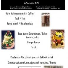 L' Amuse Kávézó-Cukrászda