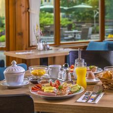 Corvin Hotel Budapest reggeli