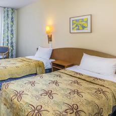Corvin hotel Budapest Sissi Wind standard twin room