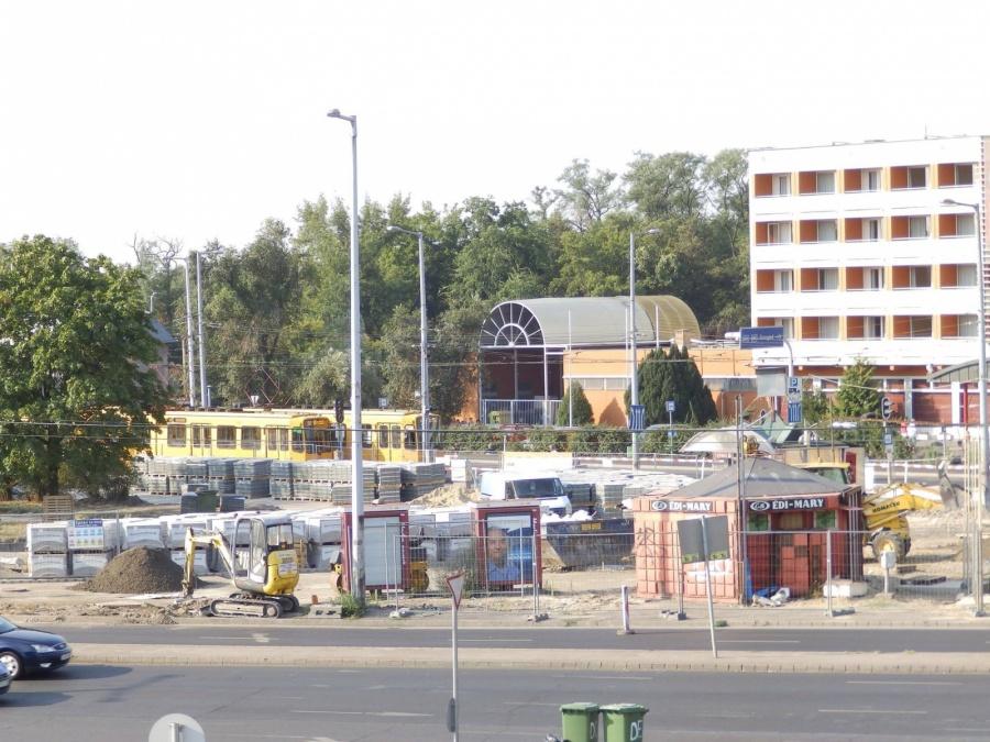 A Határ út építése 2 éve. Még mindig káosz van (fotó: Dornyi Gyula)