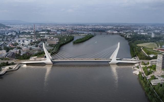 Az új híd látványterve (forrás: budapest.hu)